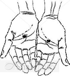 Gods clipart jesus hand Art lenten clip Men's may