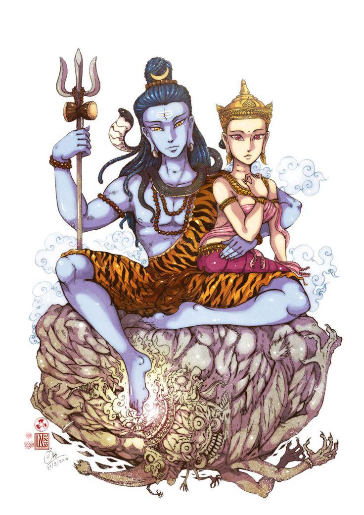 Gods clipart kartik Insine Family Kailash line on