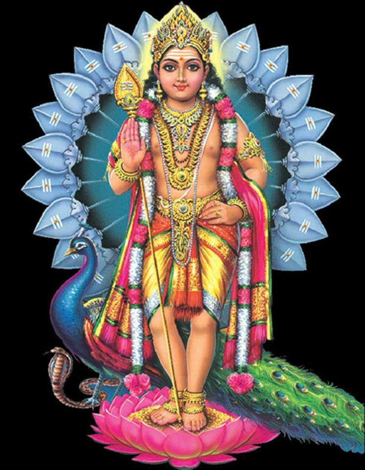 Gods clipart kartik Known as names Skanda on