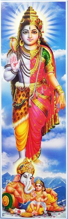 Gods clipart kartik Ganesha Vishnu (Reprint on Paper