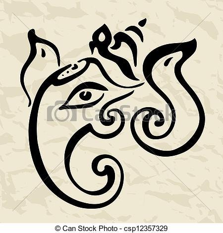 Gods clipart logo Illustration Hindu Vector Ganesha Ganesha
