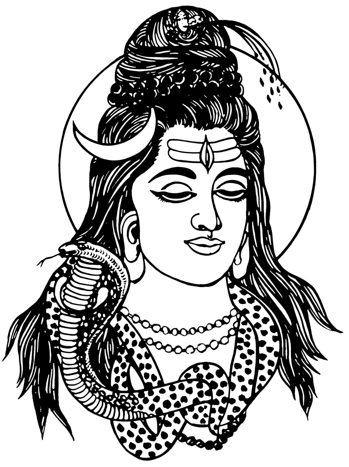 Gods clipart mahadev Shankar shiv shiv God clipart