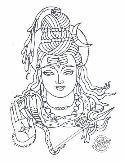 Gods clipart mahadev Download Clip  DesiPainters Shiva