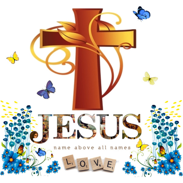 Gods clipart name jesus Names All Name Polyvore Above