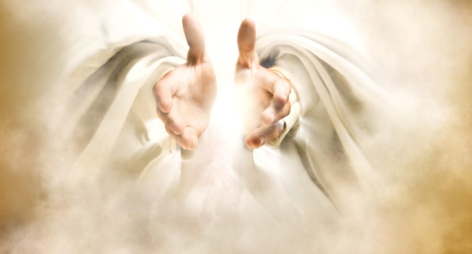 Gods clipart open hand Healing Jesus Hands God's Cliparts