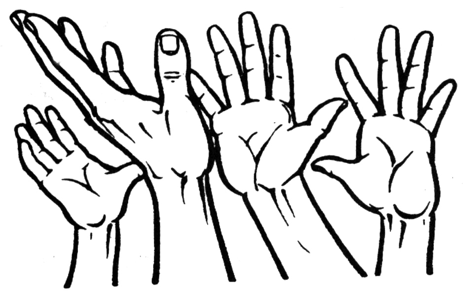 Reach clipart Reaching Hand Clipart Hand Images Offering Clipartner Hand