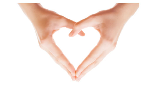 Heart-shaped clipart hand Hands A clipart open Shaped