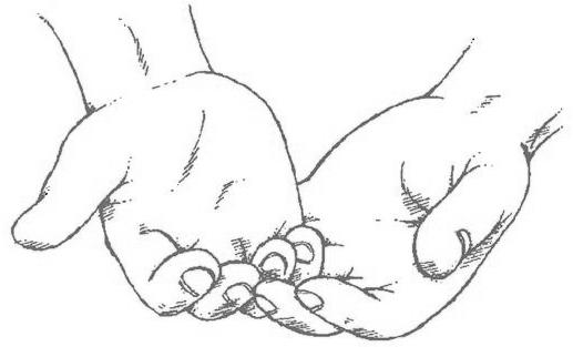 Gods clipart open hand Hands:  Teaching: Praying Clip