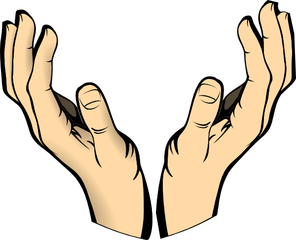 Hand Gesture clipart outstretched hand Hands Helping clipart in collection