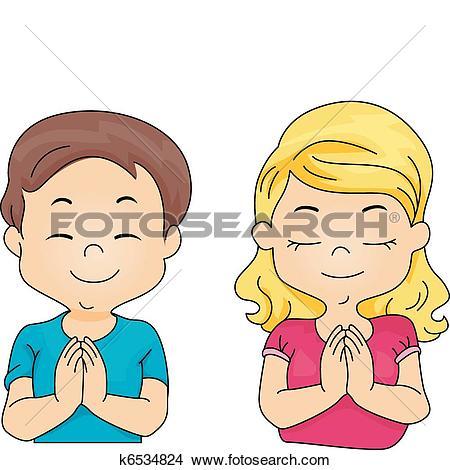 Saying clipart prayer circle #6