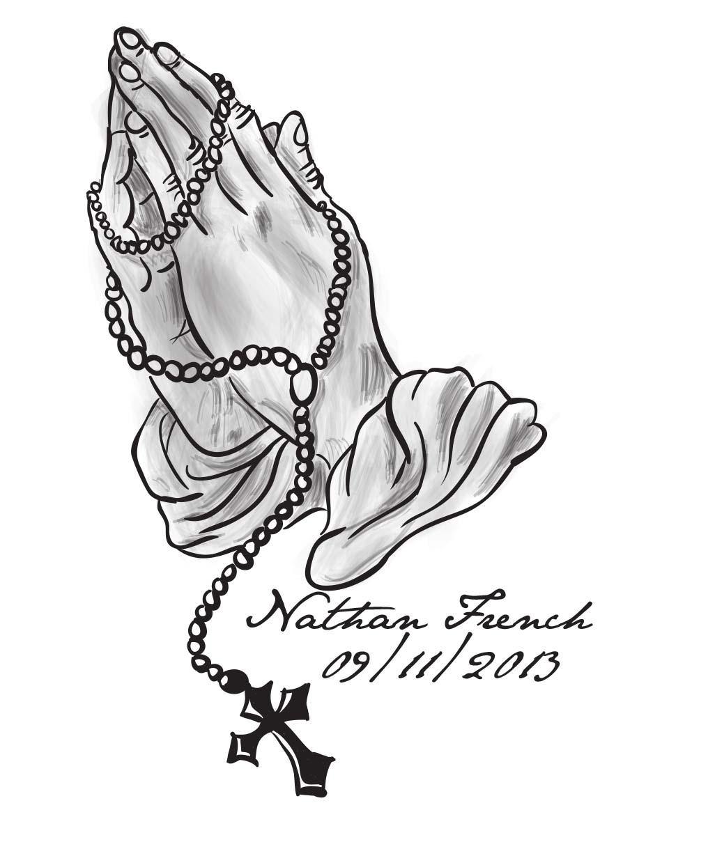 Gods clipart prayer hand Clip Art Hands Rosary Thelob