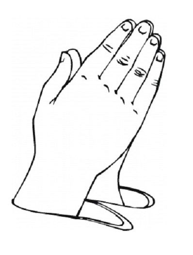 Color clipart kid hand Praying boy A collection Hands