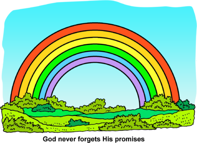 Gods clipart promise Rainbow Image download: com Rainbow
