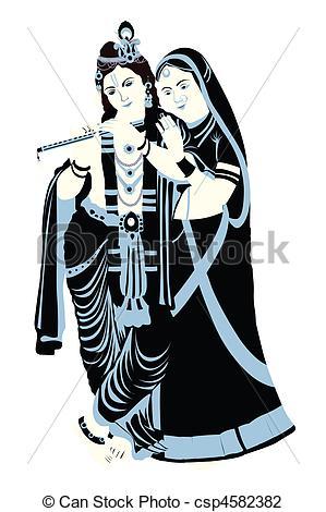 Gods clipart radha krishna With Radha Art krishna radha