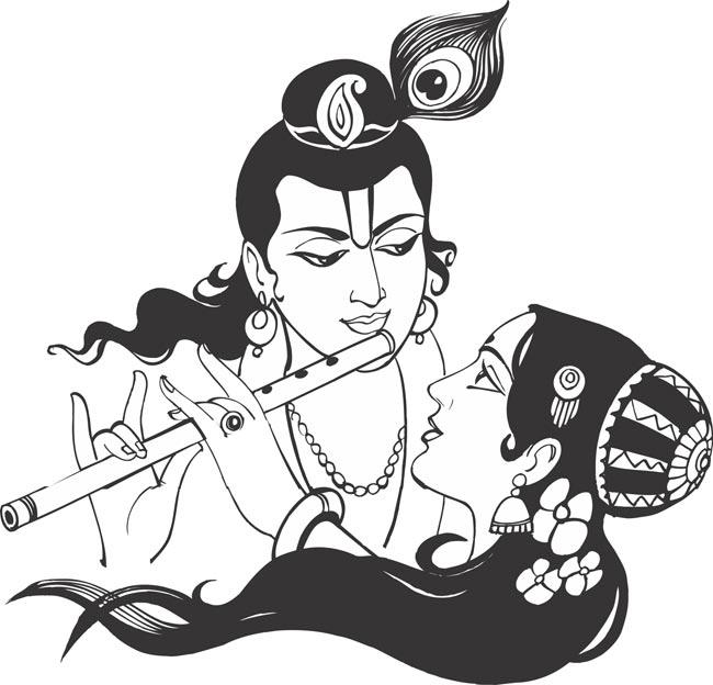 Gods clipart radha krishna Krishna Cliparts Lord Cliparts –