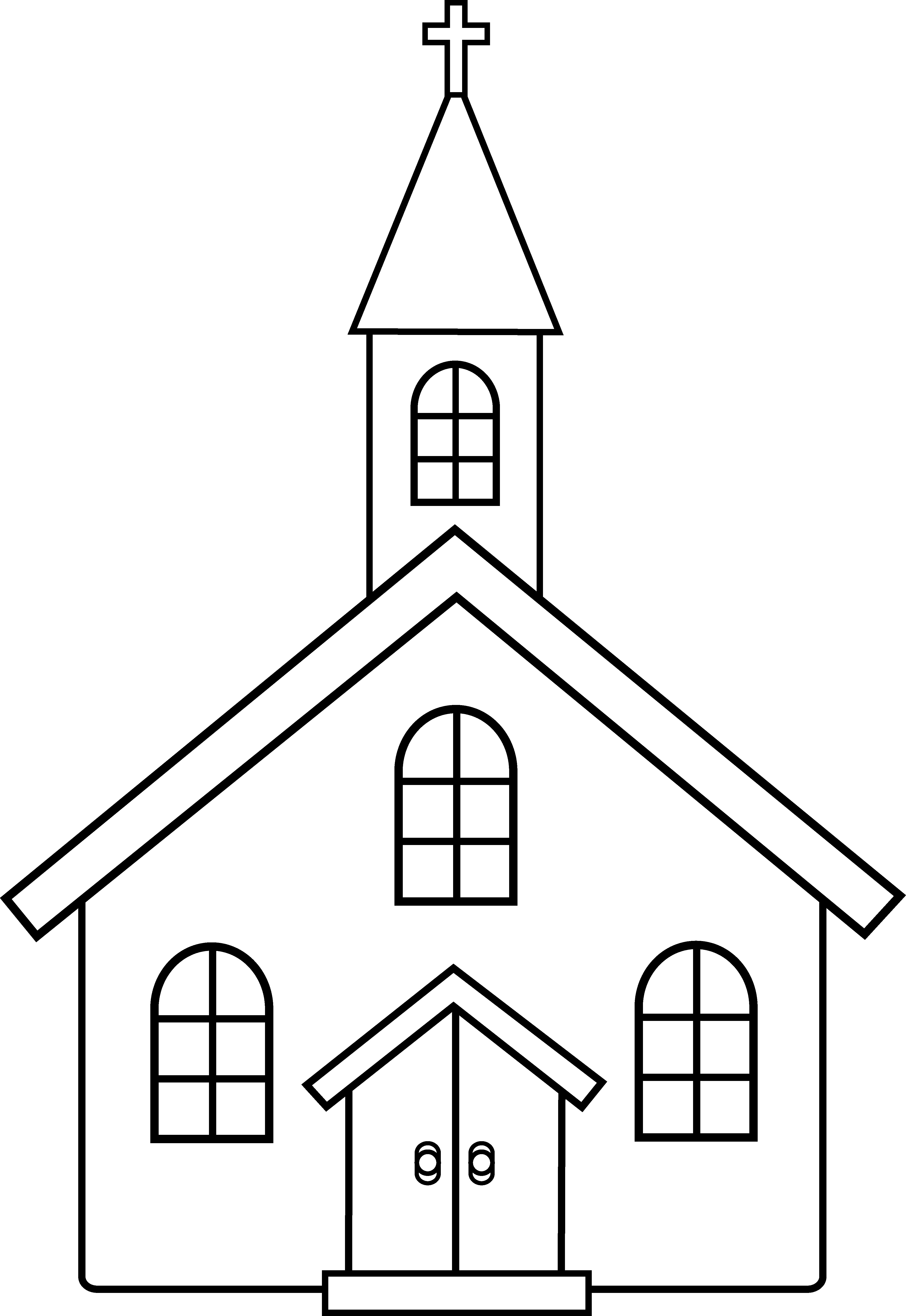 Religion clipart small church #5