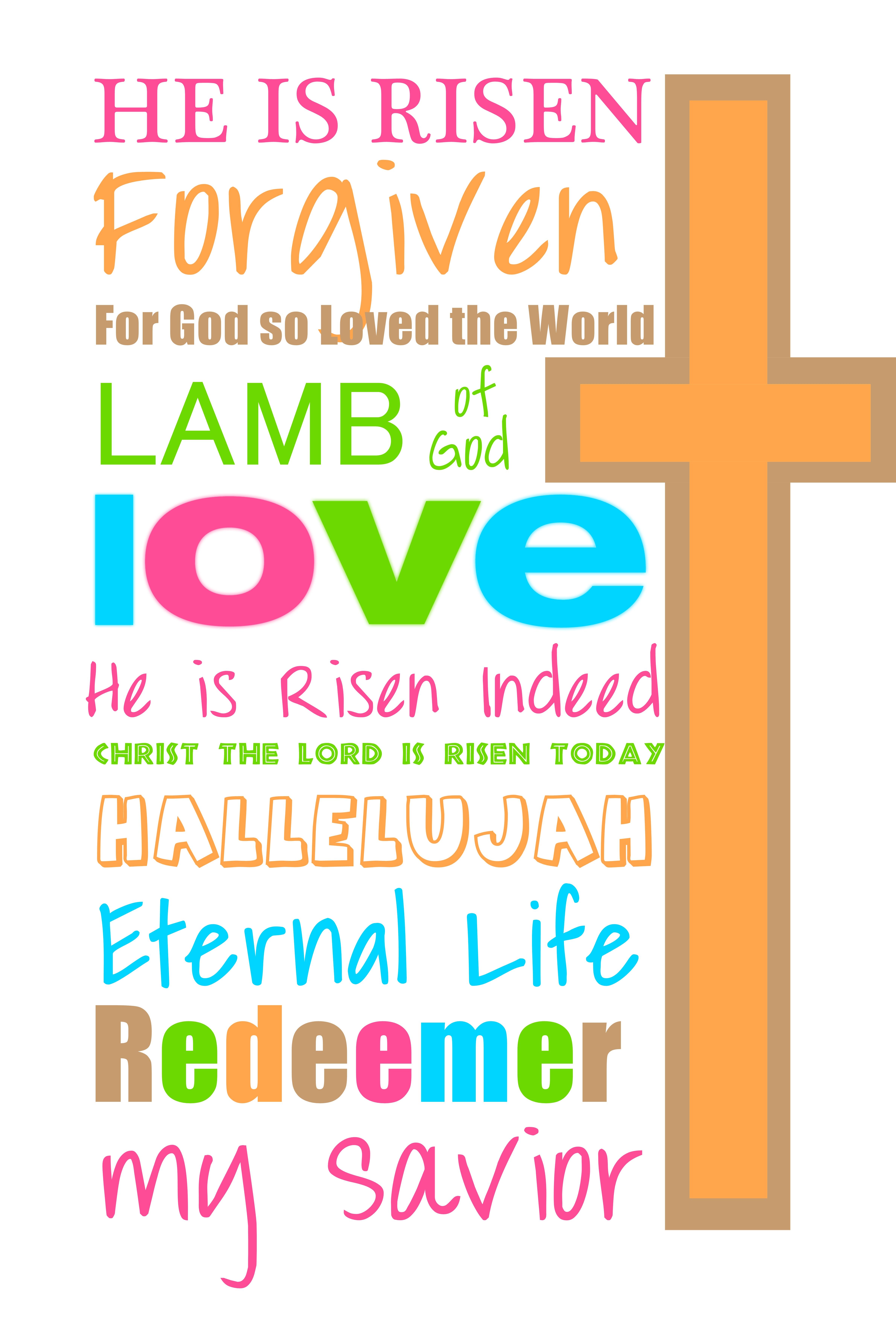Gods clipart risen Art art Clip resurrection Easter
