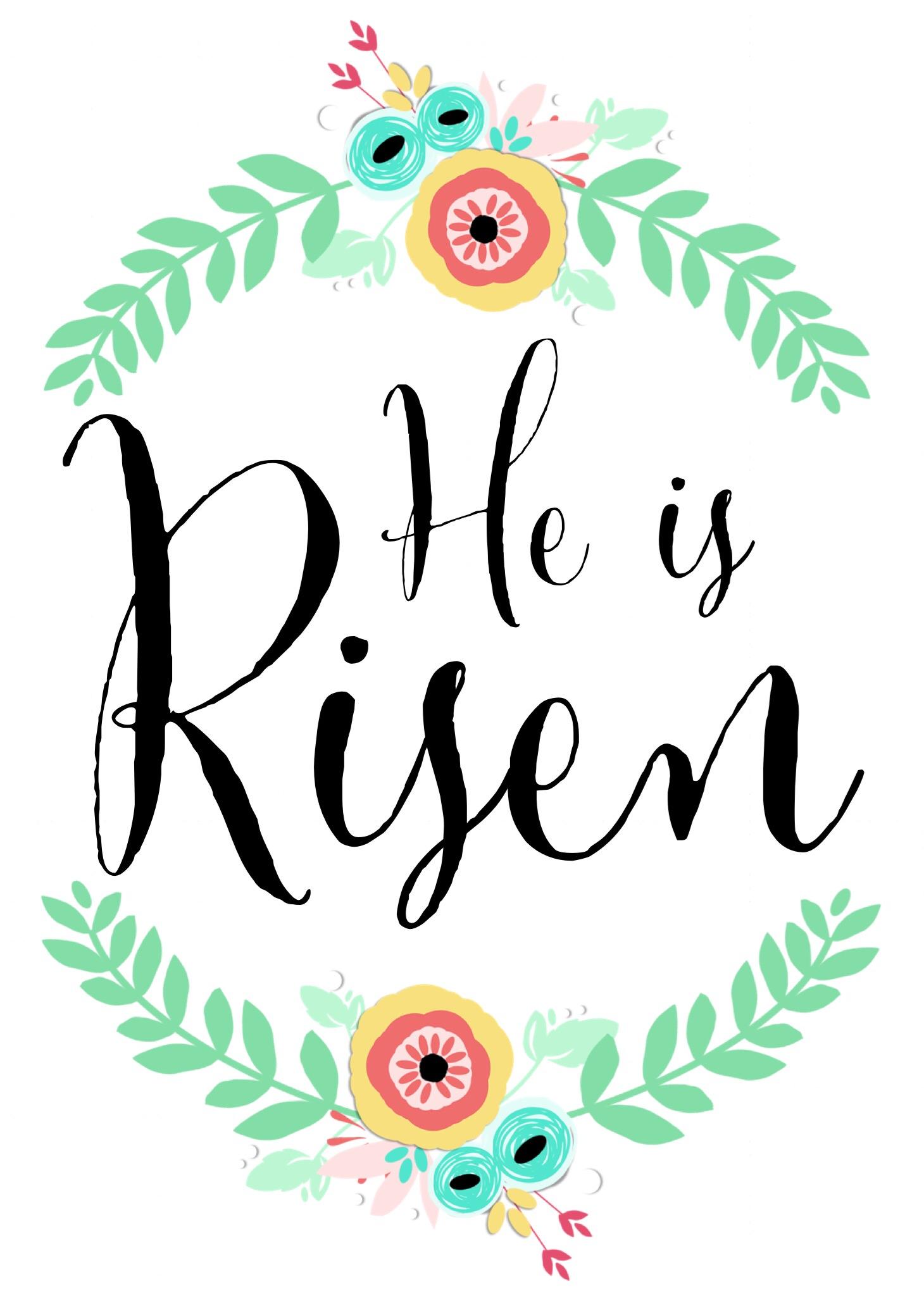 Gods clipart risen He Risen clipart Is risen