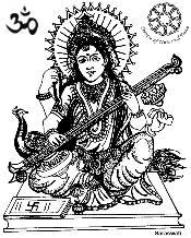 Gods clipart sarswati Activities Saraswati Page DUPNA