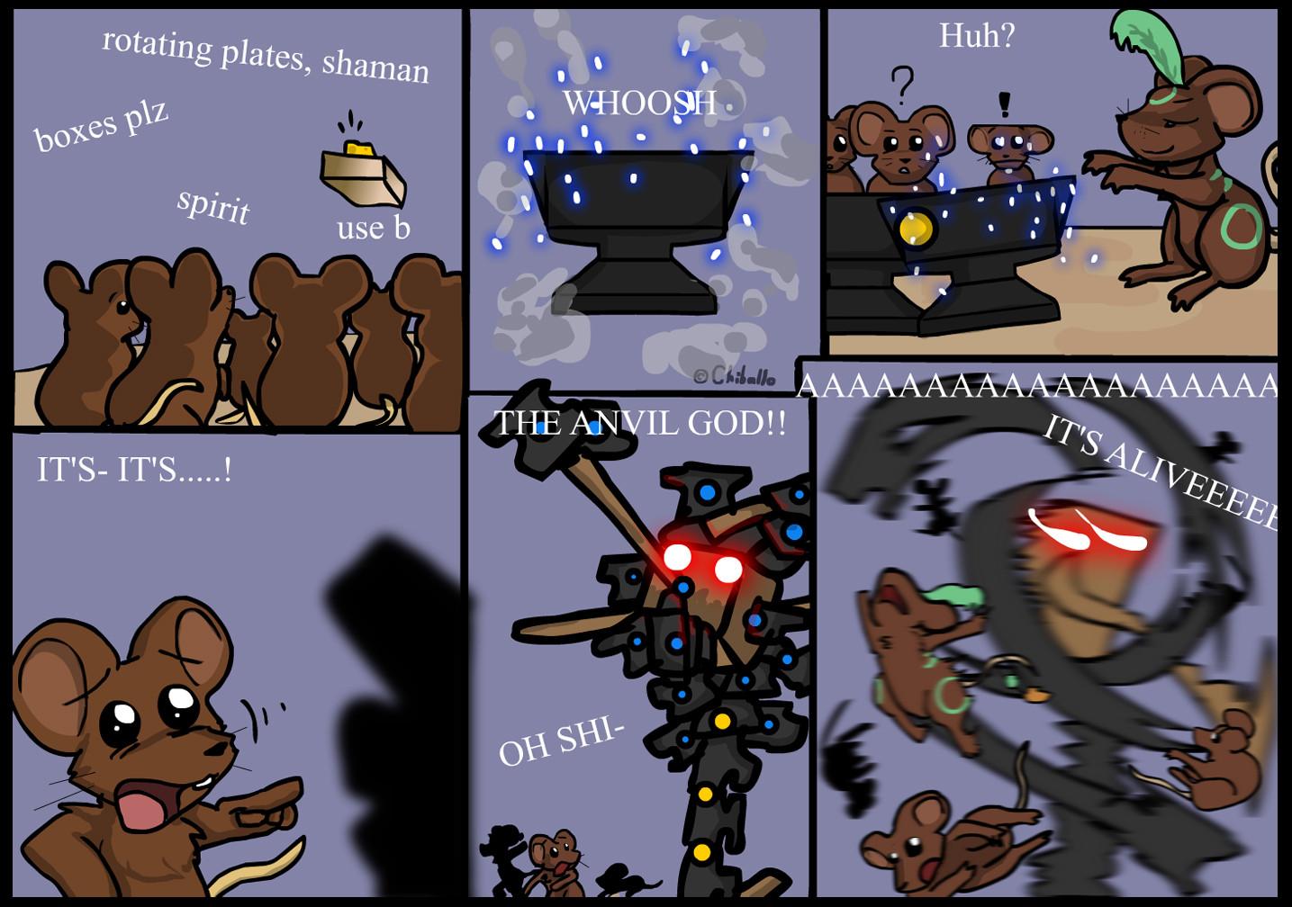 Gods clipart shaman  god by Anvil Fandom