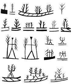 Gods clipart shaman Symbols Saami Figures Rana Rana