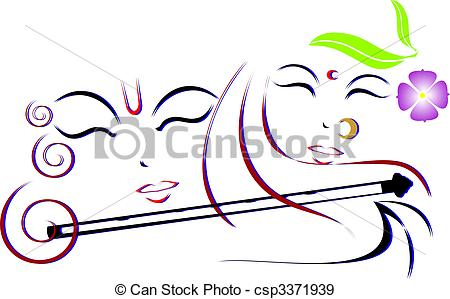 Logo clipart cake Shri radha and Free Lord