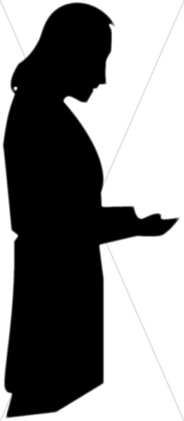 Gods clipart silhouette Prayer Prayer of Clipart to