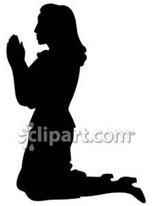 Gods clipart silhouette Royalty Woman In of GOD