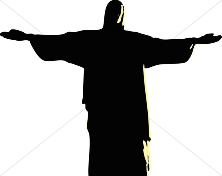 Gods clipart silhouette Jesus Jesus of Silhouette Images