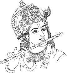 Gods clipart sri krishna White white free for Image