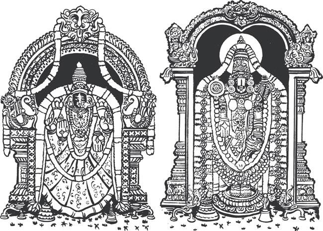 Gods clipart venkatachalapathy Clipart venkateswara God clipart venkateswara