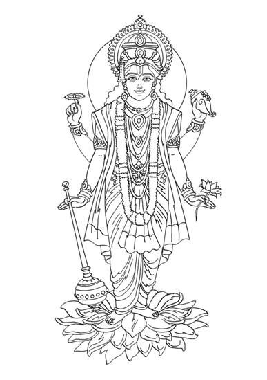 Gods clipart vishnu Puppets Pinterest Search Hindu of