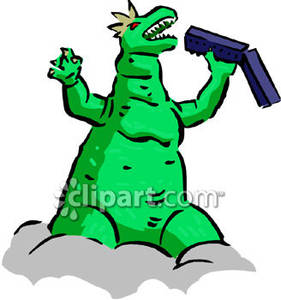 Godzilla clipart Picture Clipart  Free Royalty