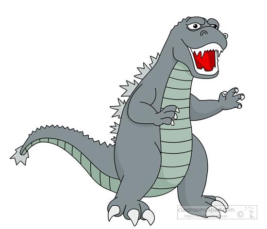 Godzilla clipart Art Clip Godzilla Savoronmorehead Godzilla
