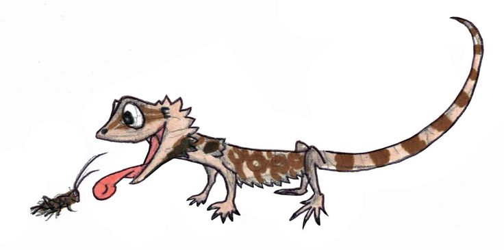 Godzilla clipart bearded dragon 17 Toon images thing Reptile