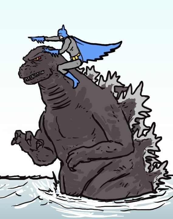 Godzilla clipart biotech is Batman Company images 71 on