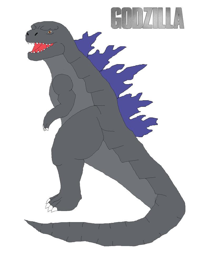 Godzilla clipart godzilla 2014 On 2014 by design DragonKnark