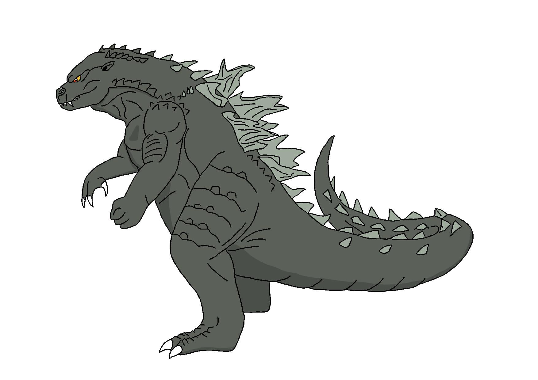Godzilla clipart godzilla 2014 DeviantArt Godzilla Godzilla raptorrex07 Kaiju