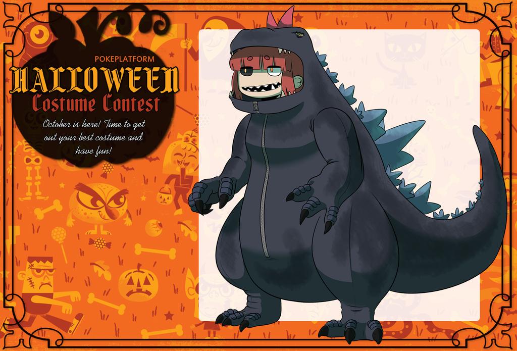 Godzilla clipart halloween Kuromizuouji by PP:Halloween Godzilla by