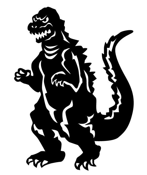 Godzilla clipart halloween Decal Sci  Decor Godzilla