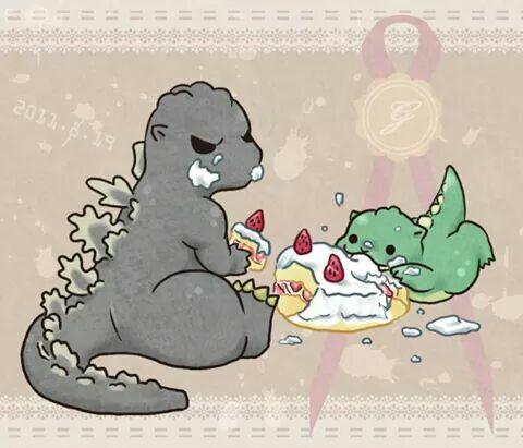 Godzilla clipart halloween Godzilla Free Happy Vector Godzilla!