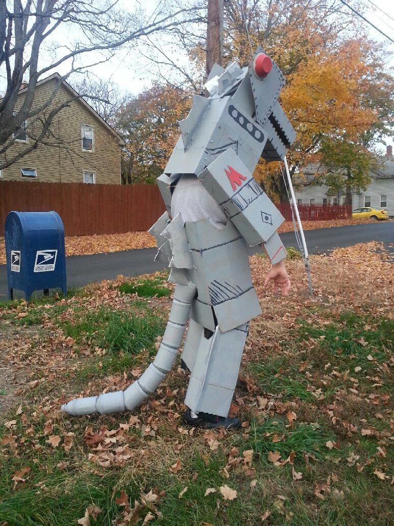 Godzilla clipart halloween Godzilla Bagocat Halloween geeked