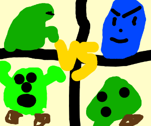 Godzilla clipart hulk Shrek Frankenstein Shrek vs Blue