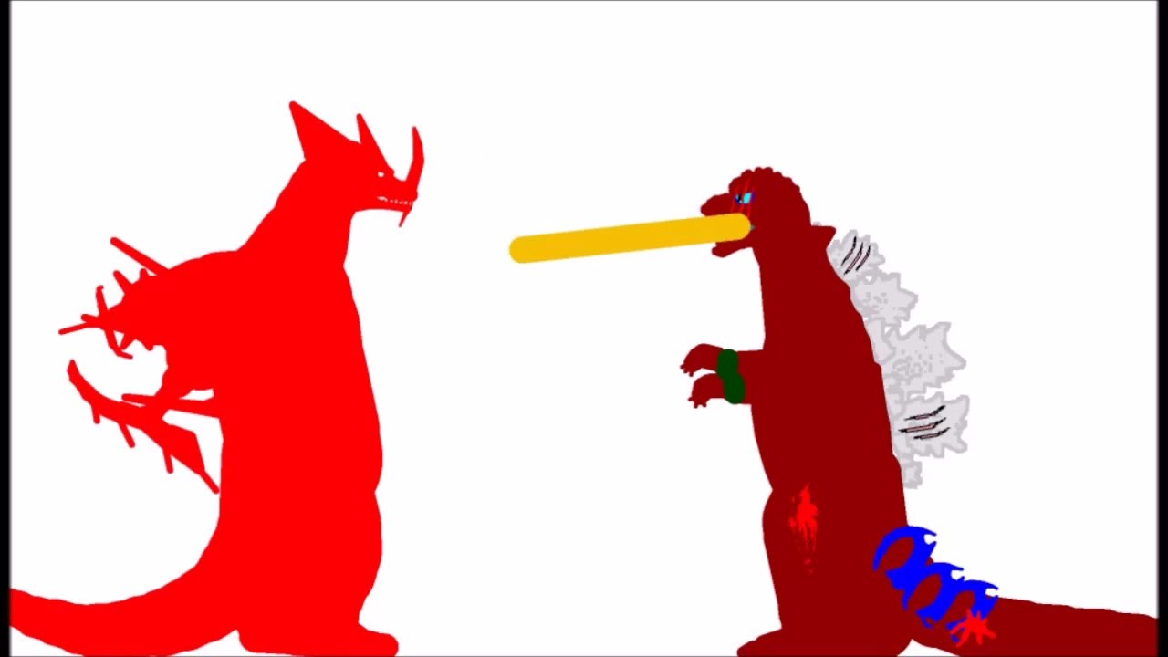 Godzilla clipart leaked Hyper Tyrant VS Godzilla YouTube