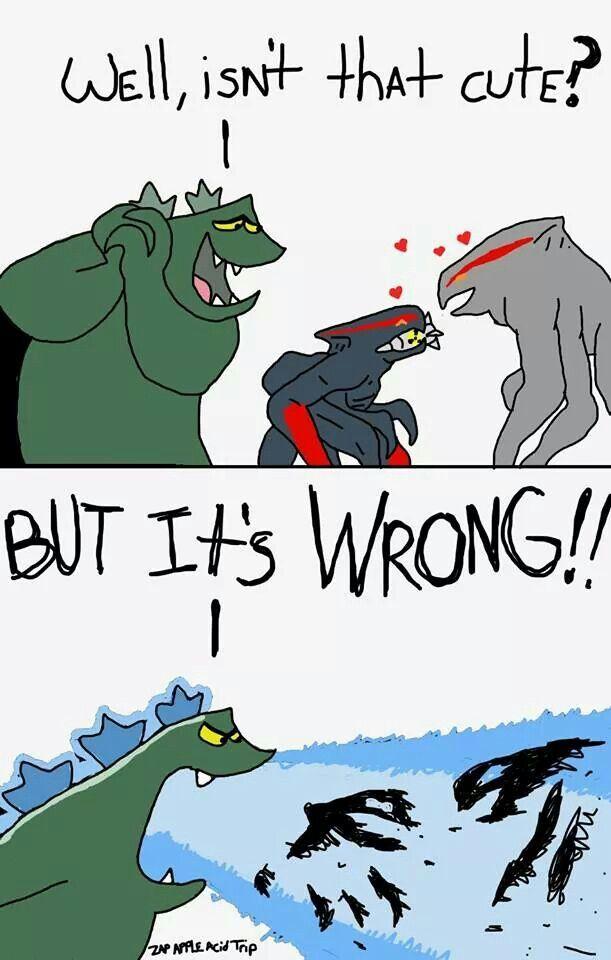 Godzilla clipart leaked Cartoon about Godzilla Godzilla Pinterest