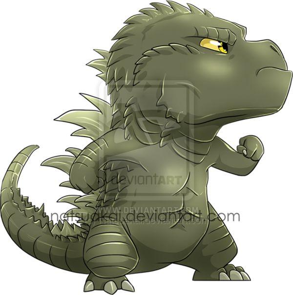 Godzilla clipart leaked By on on @deviantART ideas