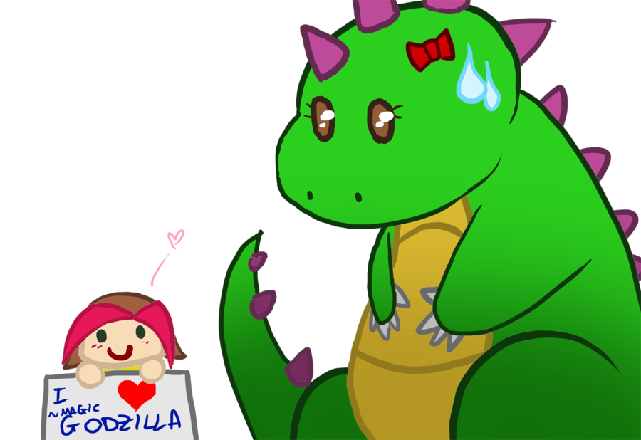 Godzilla clipart love DeviantArt I on love Angiedragoness