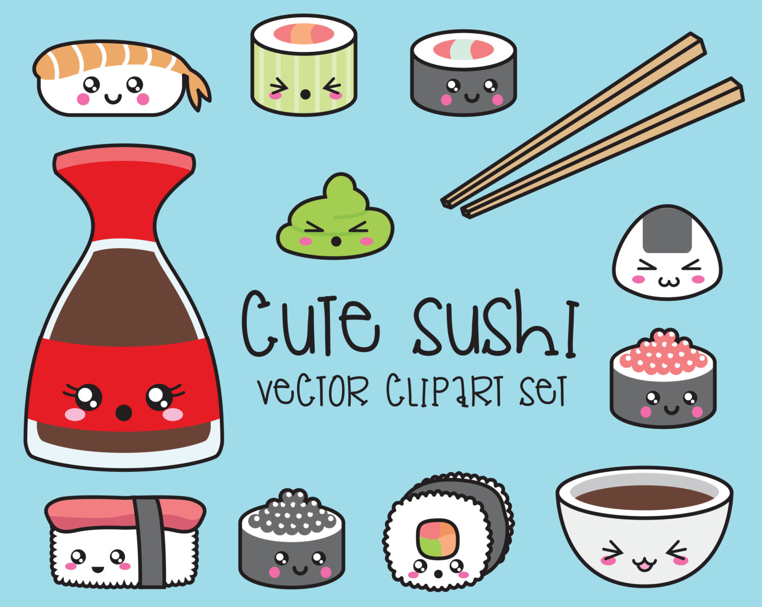 Soy Sauce clipart Sushi on Clipart Pinterest 216