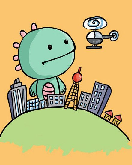 Godzilla clipart sushi Images godzilla City Hong about