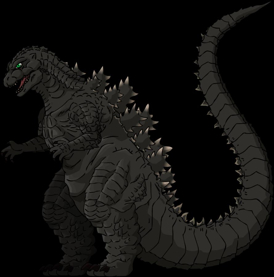 Godzilla clipart transparent The Bros on Godzilla The